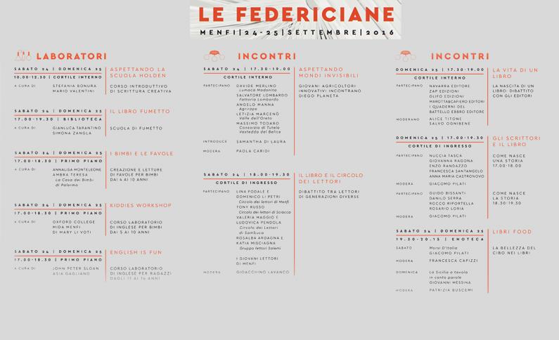 Le Federiciane. Grande evento dell'Istituzione Culturale Federico II
