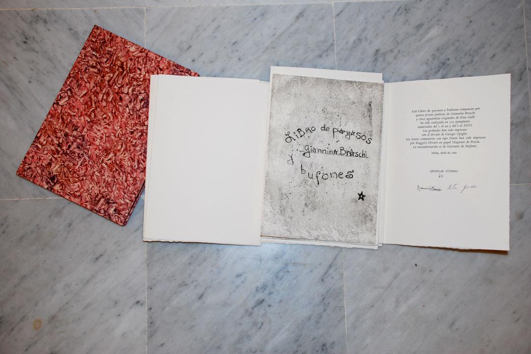 Upiglio-046-Libro-de-Payasasos-y-Bufones-con-prose-poetiche-di-G.-Braschi-acquatinte-di-R